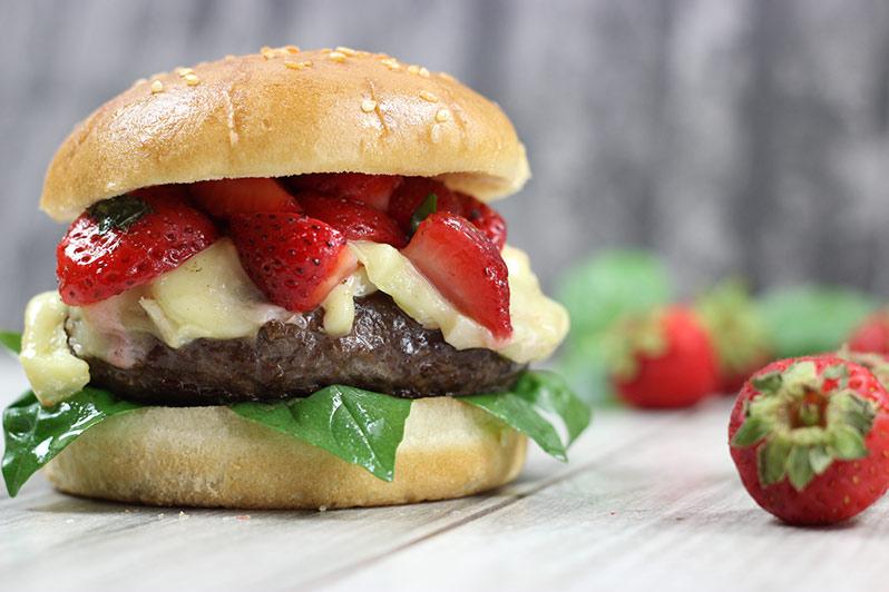 Strawberry delight Hirschburger