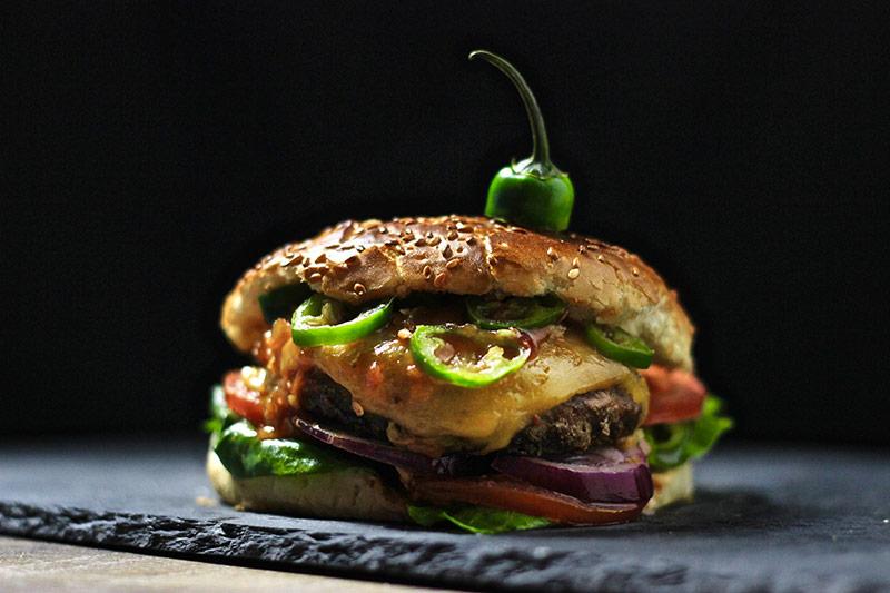 Wilder Chili-Cheese Burger
